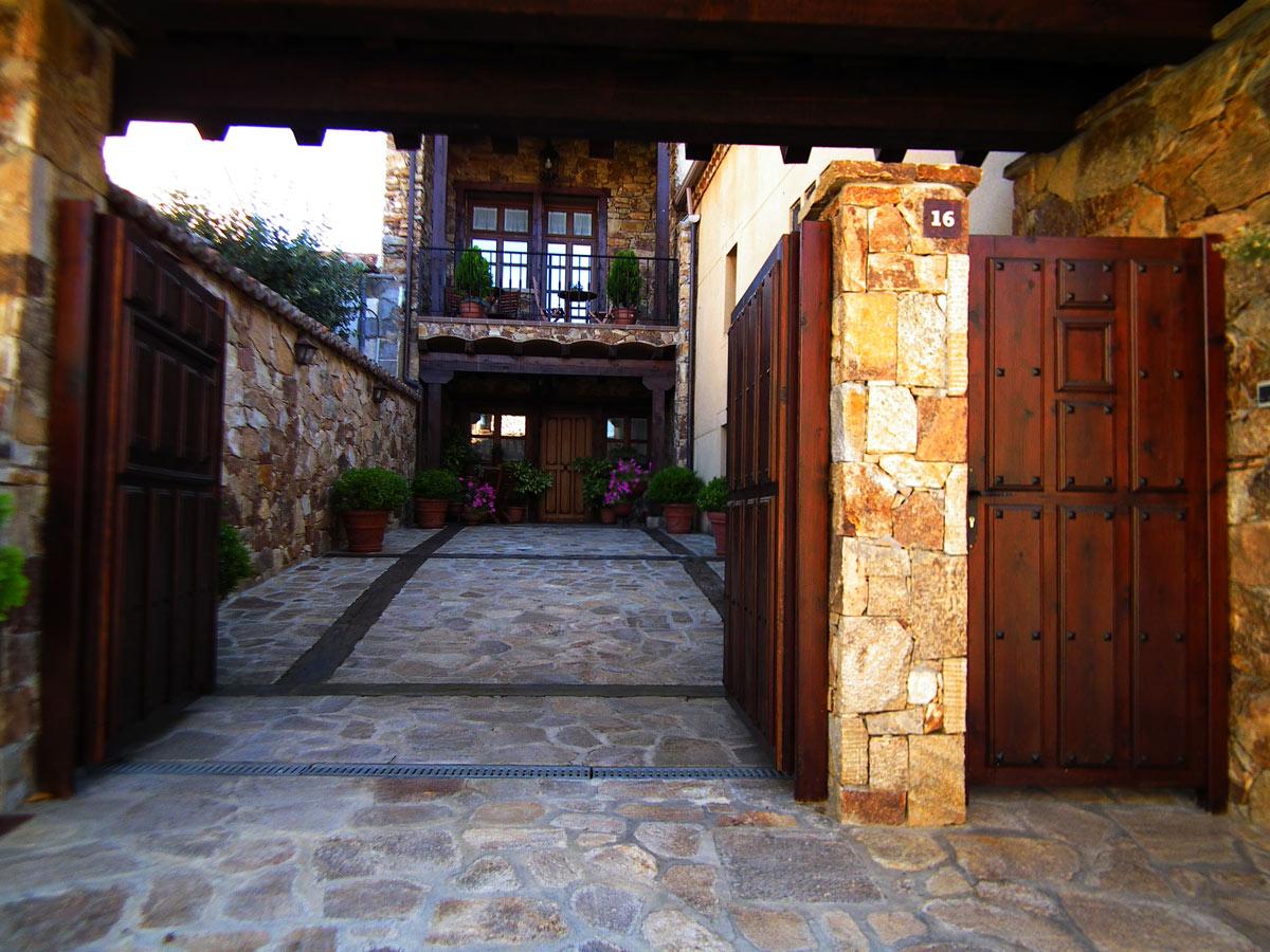 patio con terraza